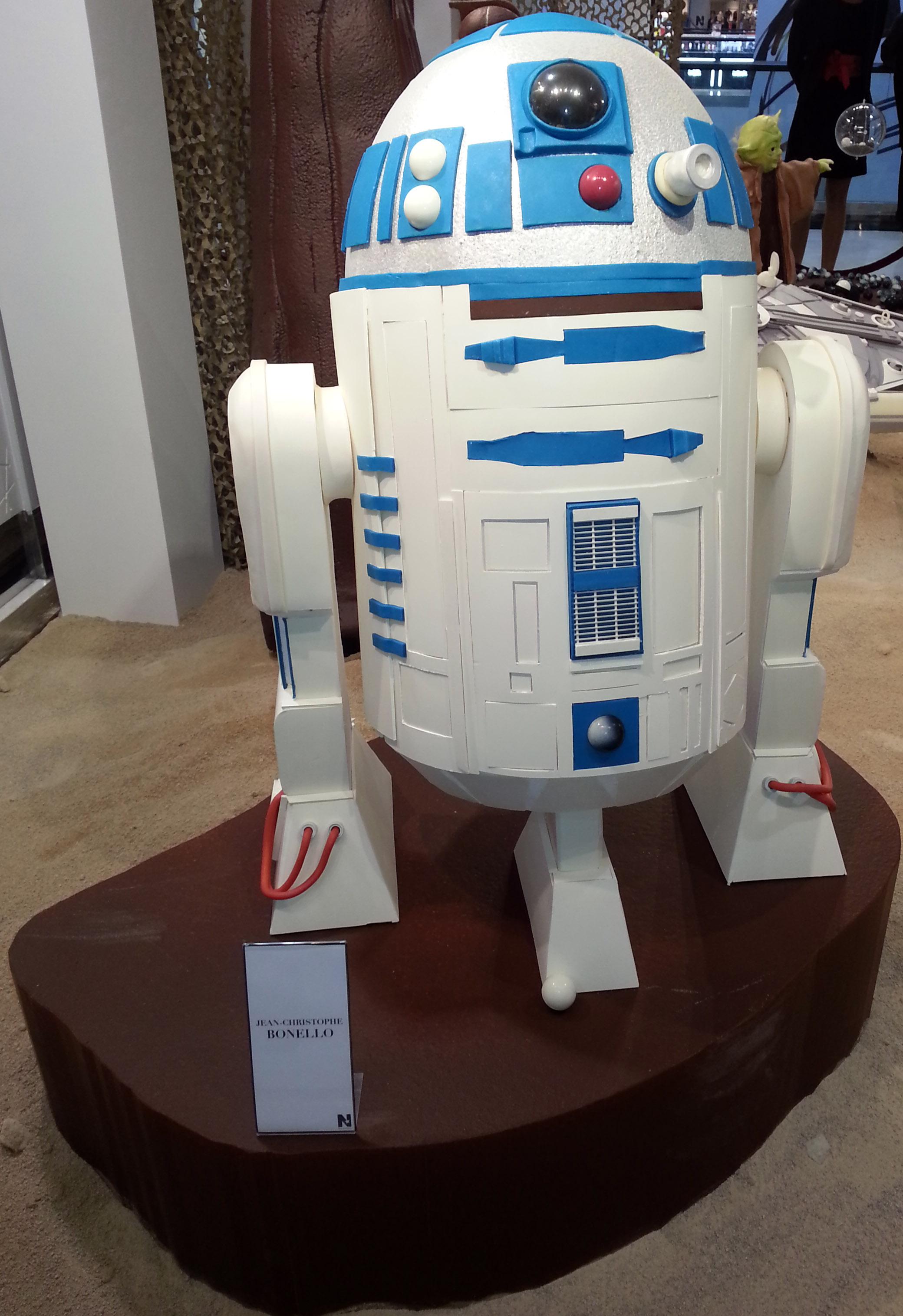 R2 D2 survivant des 6 films de la saga
