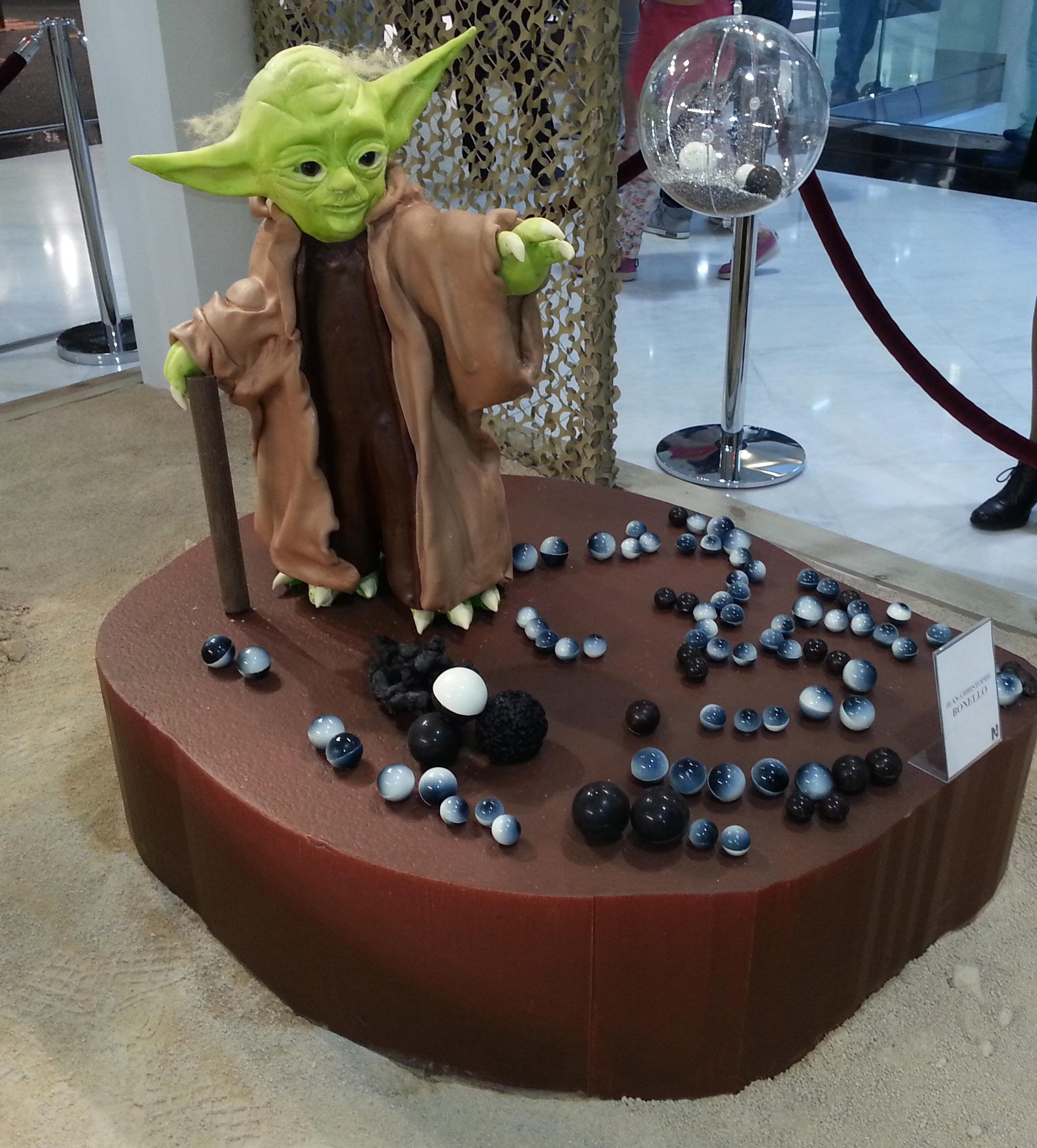 Maître Yoda en action !