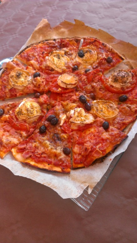 Ma pizza fait-maison !