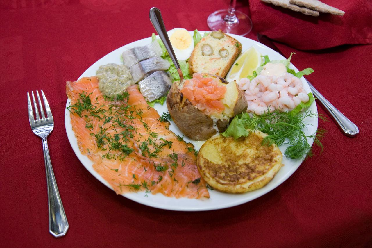 Dégustez des saveurs originales issues de la traditionnelle cuisine skandinaviska.