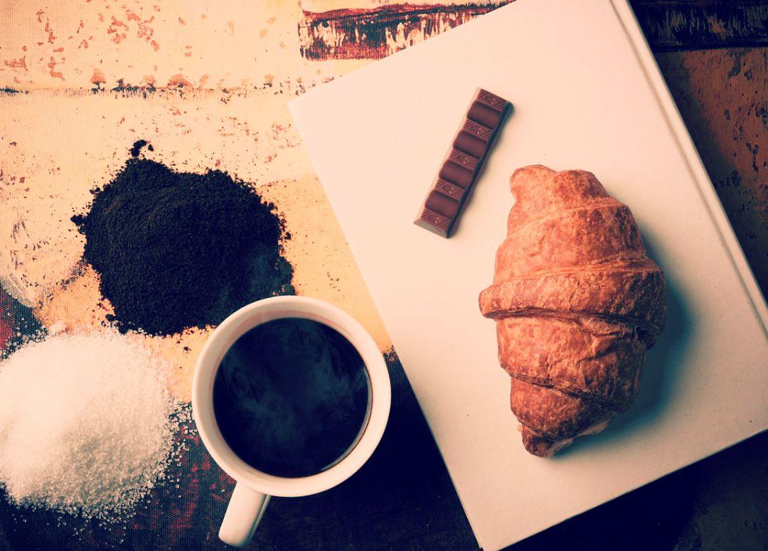 J'adore commencé ma journée par un bon petit déjeuné, accompagné de ma tasse de café !